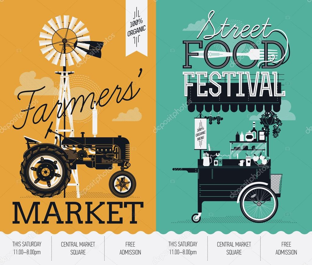 Street food festival and Farmers market