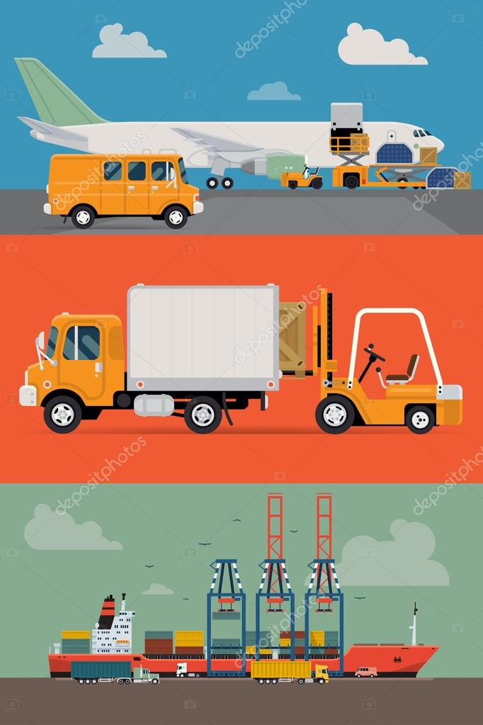 delivery and shipping logistics service