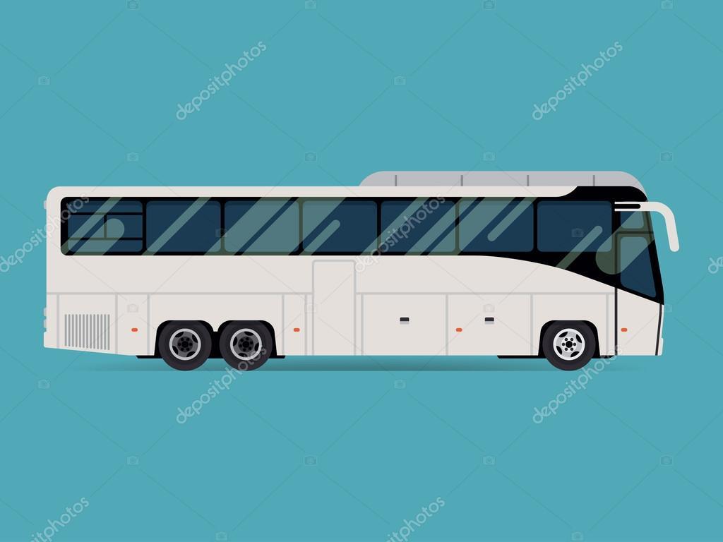 Tourist coach bus