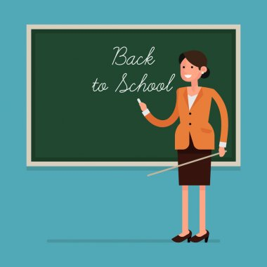 'Back to School' - teacher