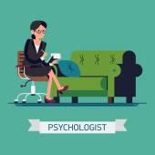 Fotografie friendly psychologist female character