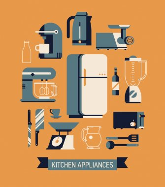 essential kitchen appliances set
