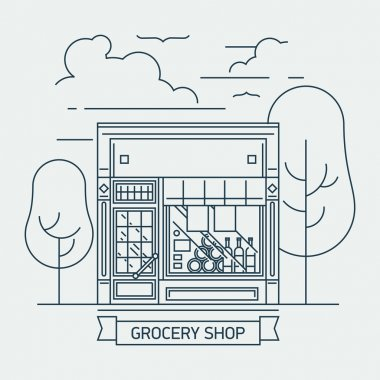 shop grocery mini market