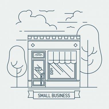 small shop mini market