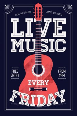 Beautiful 'Live Music Every Friday'