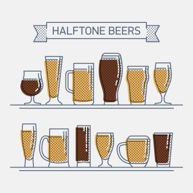 beer glassware set
