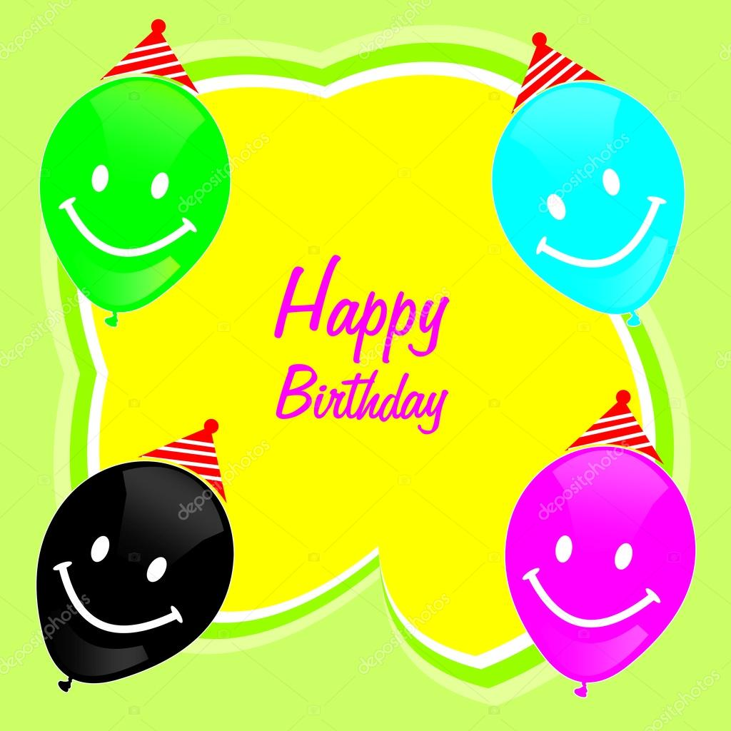 Diseño Tarjetas Personales Corel Draw Feliz Cumpleaños