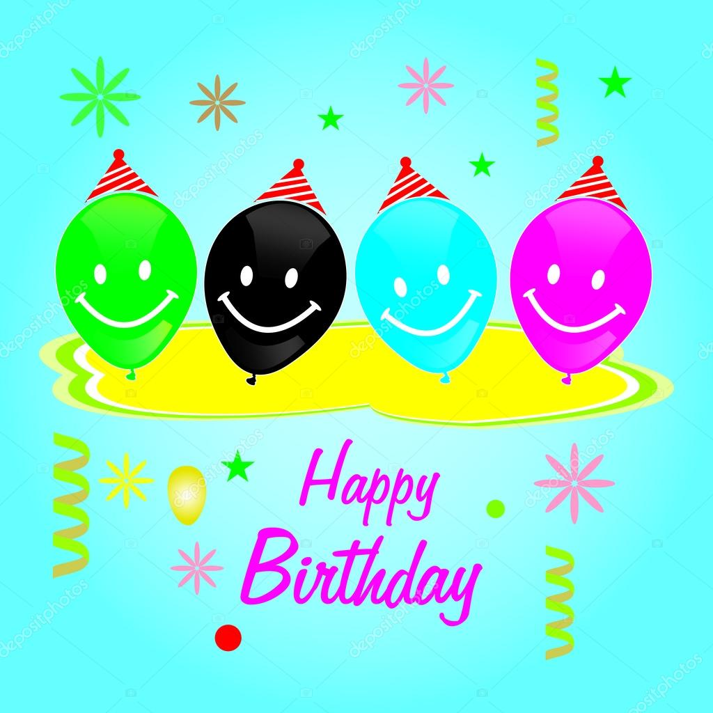 Happy Birthday Stock Vector Safeekhan 55850449