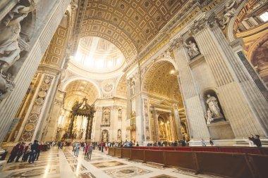 Interior of St. Peter Basilica