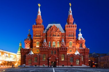 Historical Museum on Red Square