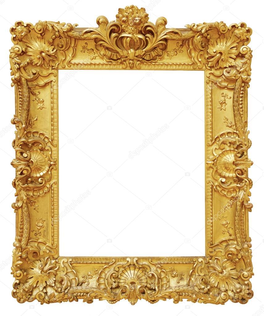 Nietypowy Okaz złota rama — Zdjęcie stockowe © ZakharovEvgeny #101485332 JR91