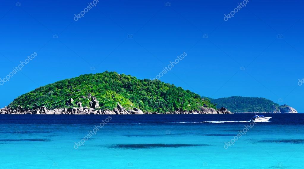 Tropical landscape of Similan islands