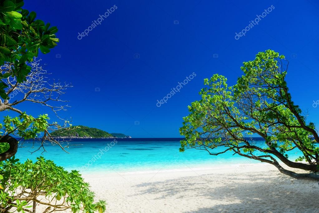 Tropical landscape of Similan islands