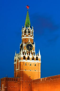 Spasskaya tower of Kremlin