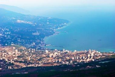 scenic Yalta cityscape