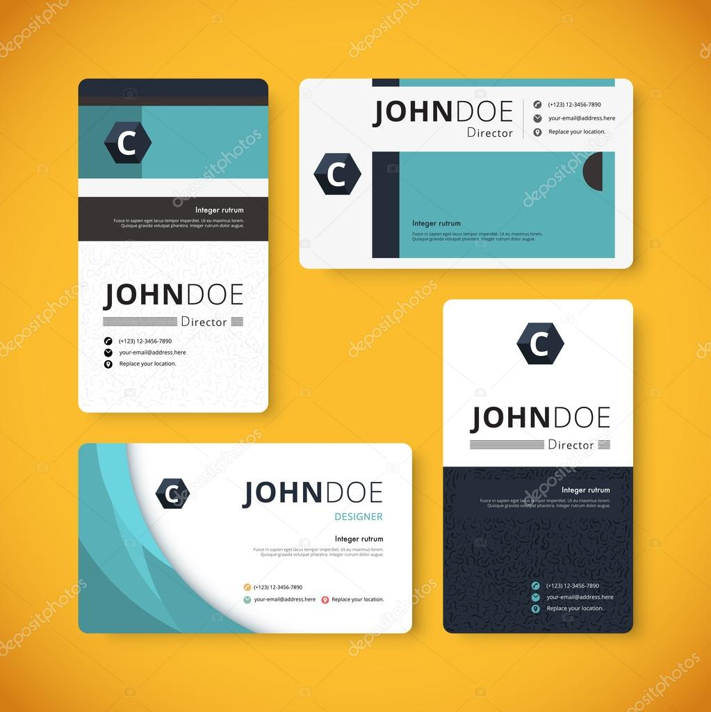 Corporate indentity business card template template design vec corporate indentity business card template template design vec vetores de stock reheart Image collections