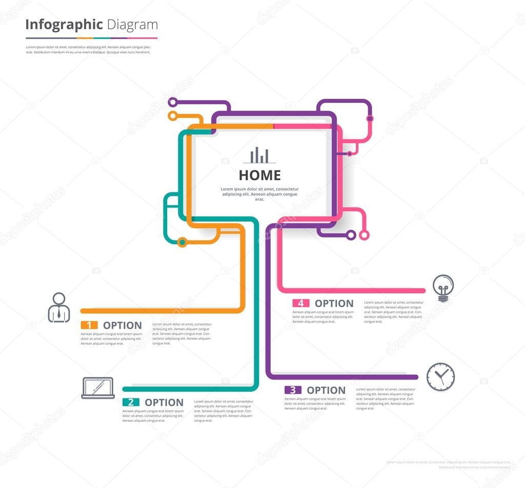 Plantilla de diagrama, plantilla de gráfico de organización ...