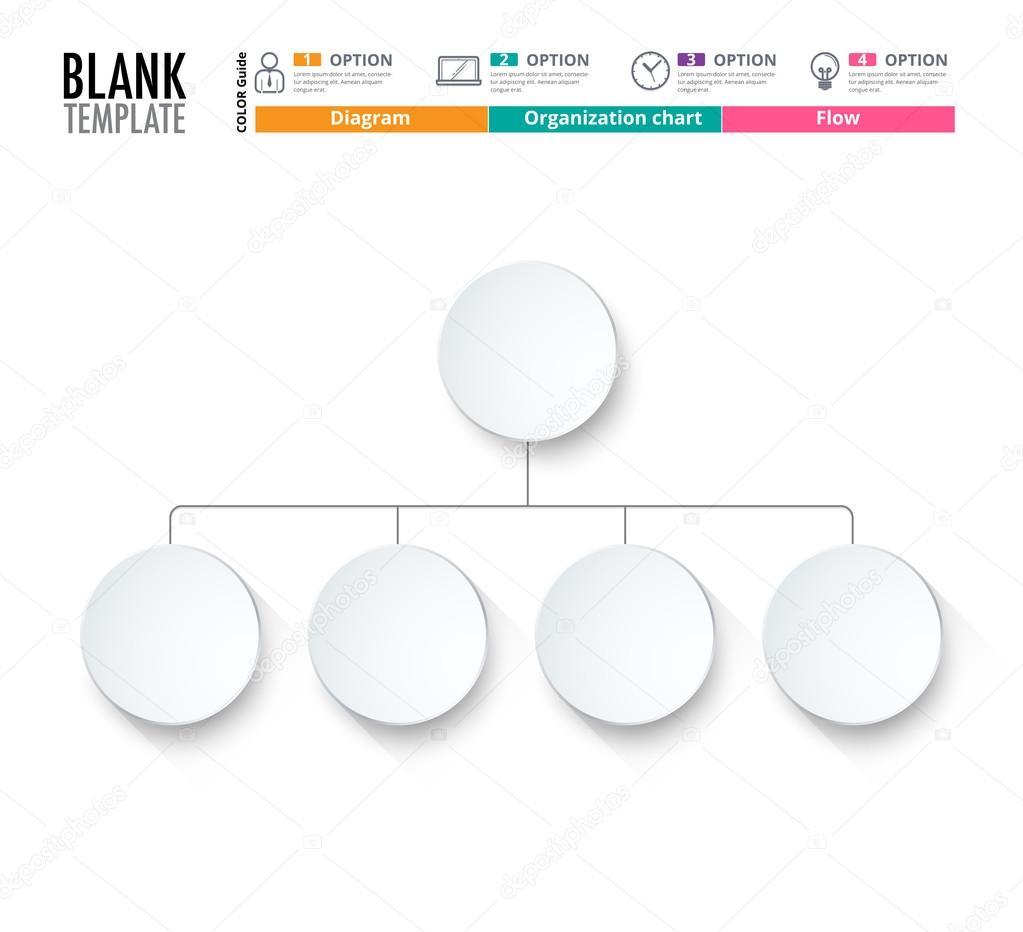 Diagrama de modelo modelo de grfico de organizao modelo de diagram template organization chart template flow template blank diagram for replace text white color circle diagram vector stock design ccuart Image collections