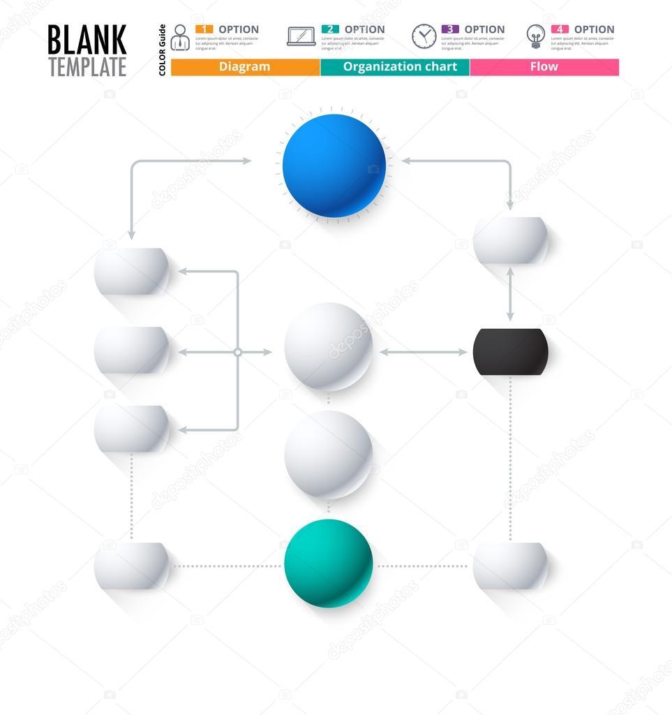 Diagrammvorlage, Organisation Diagrammvorlage. Flow-Vorlage ...