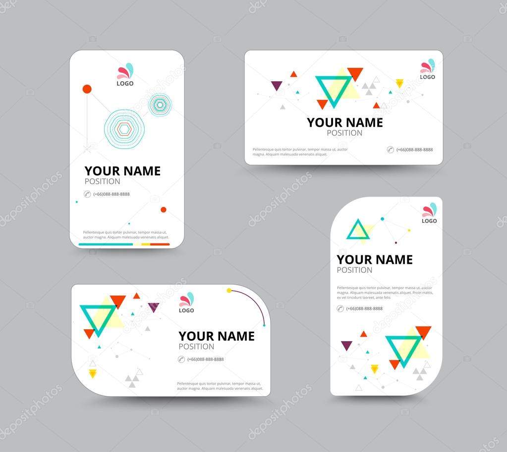 Business card template business card layout design vector illu business card template business card layout design vector illu stock vector 79939276 magicingreecefo Choice Image