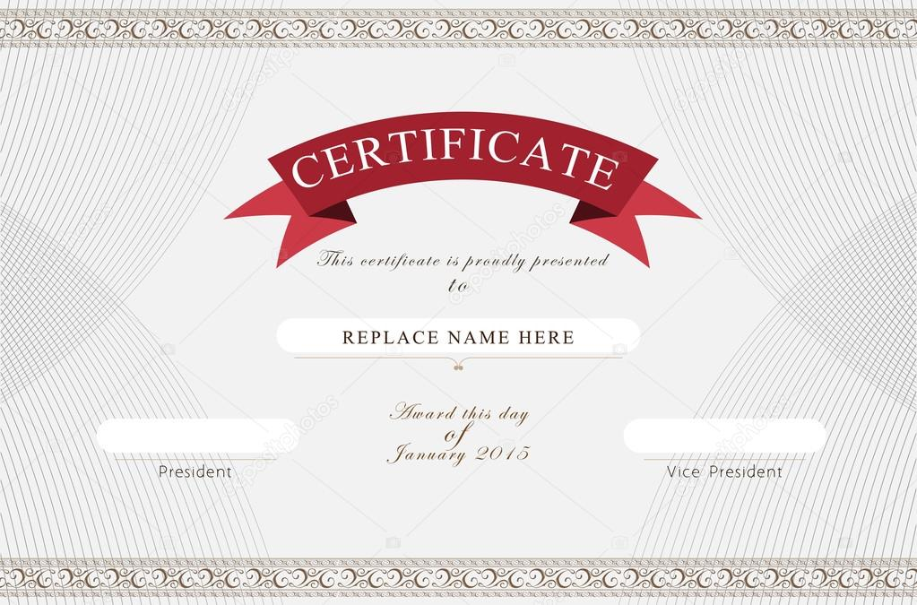 Certificate border certificate template vector illustration certificate border certificate template vector illustration vector by aohodesigndp yadclub Images