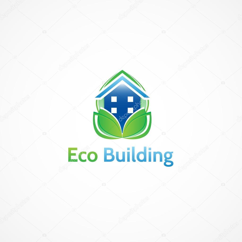 Eco Building, environmentally friendly construction.