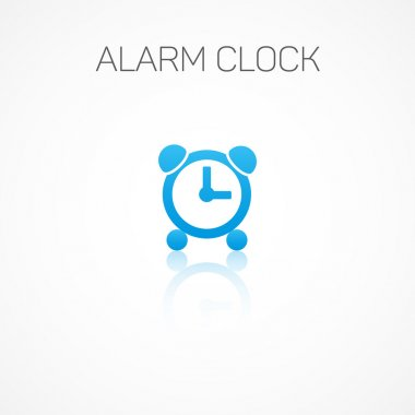 Alarm clock,Sign of the system configuration.