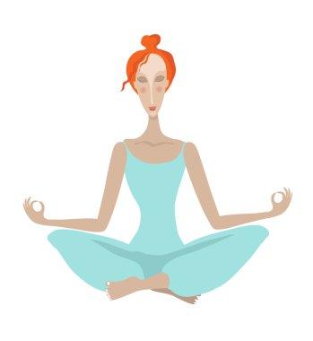 red-girl-yoga