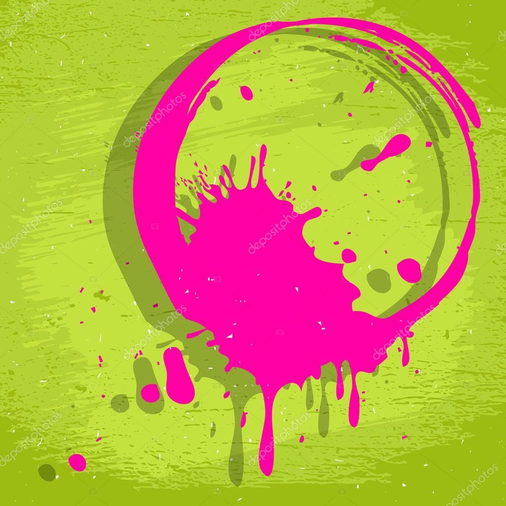 Sfondo Di Colore Acido Grunge Vettoriali Stock Korinoxe 52690619