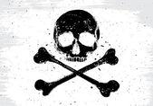 Bandiera pirata bianco