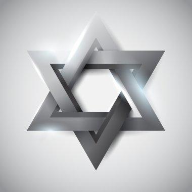 Gray star of David