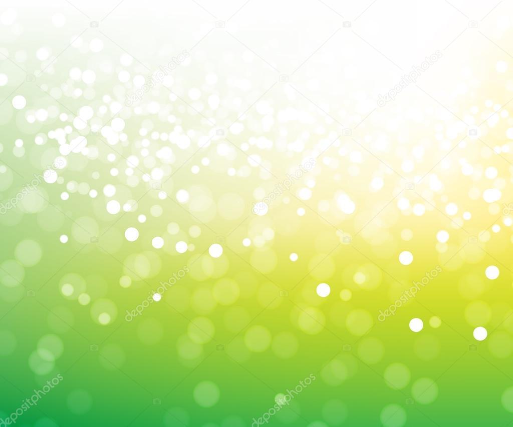 Green glitter magic background