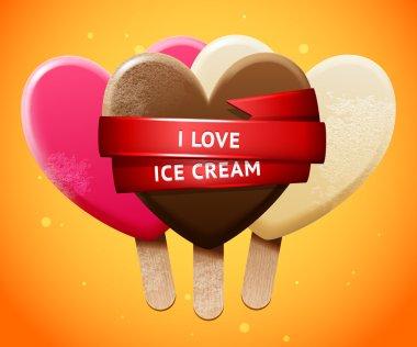 Sweet ice cream set