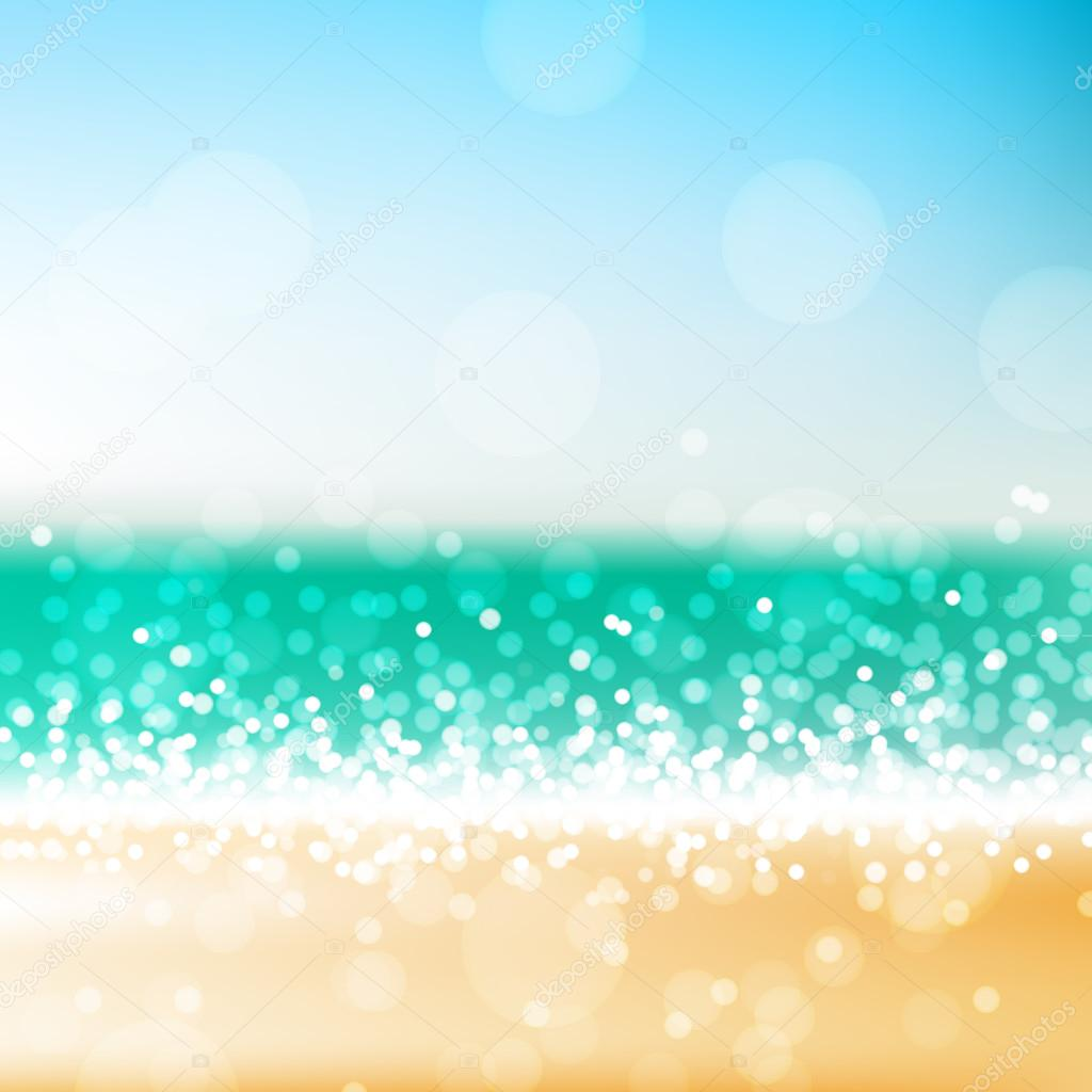 Beach abstract background u2014 Stock Vector u00a9 korinoxe #71844839