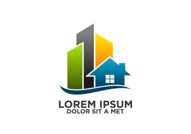 Home-building-architecture-real estate logo-vector