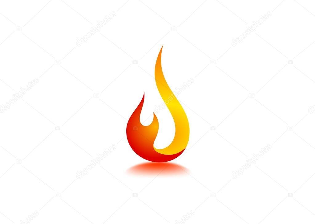 fire flame logo � stock vector 169 breee 59840599