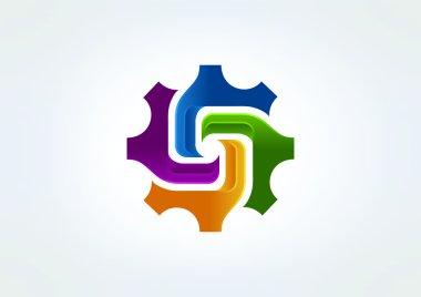 Technology corporate logo design