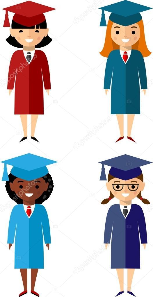 Conjunto de diferentes nacionalidades de los estudiantes en el ...