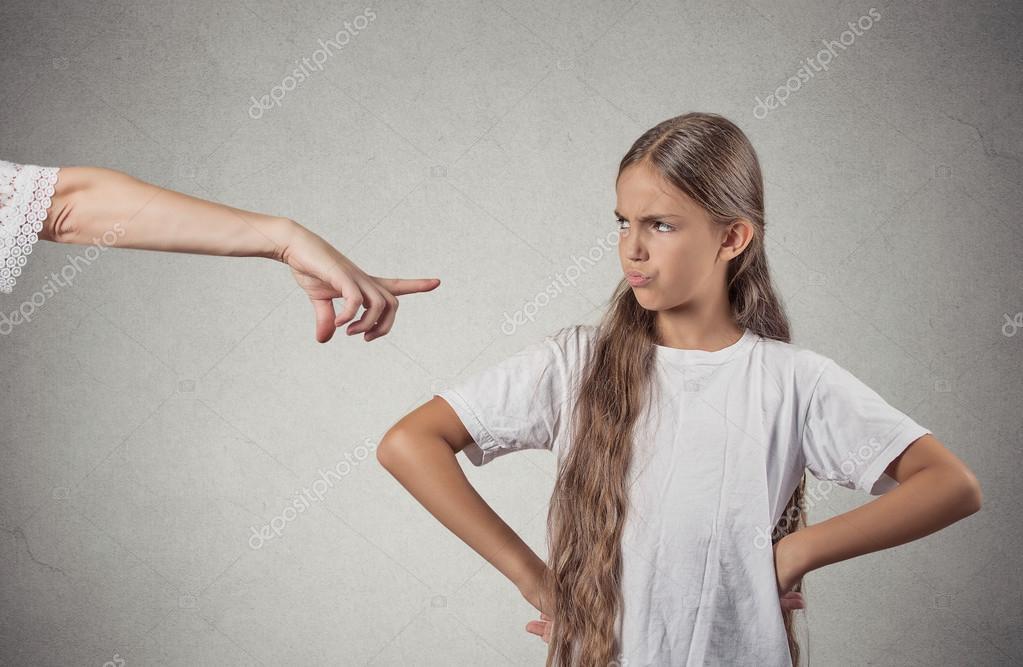 Child parent confrontation