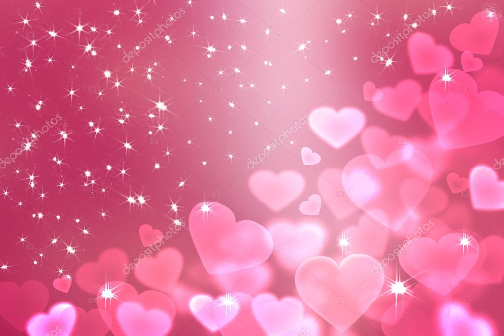 Pink Heart Bokeh Wallpaper Wallpaper To Valentines Day