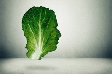 Human healthy diet concept
