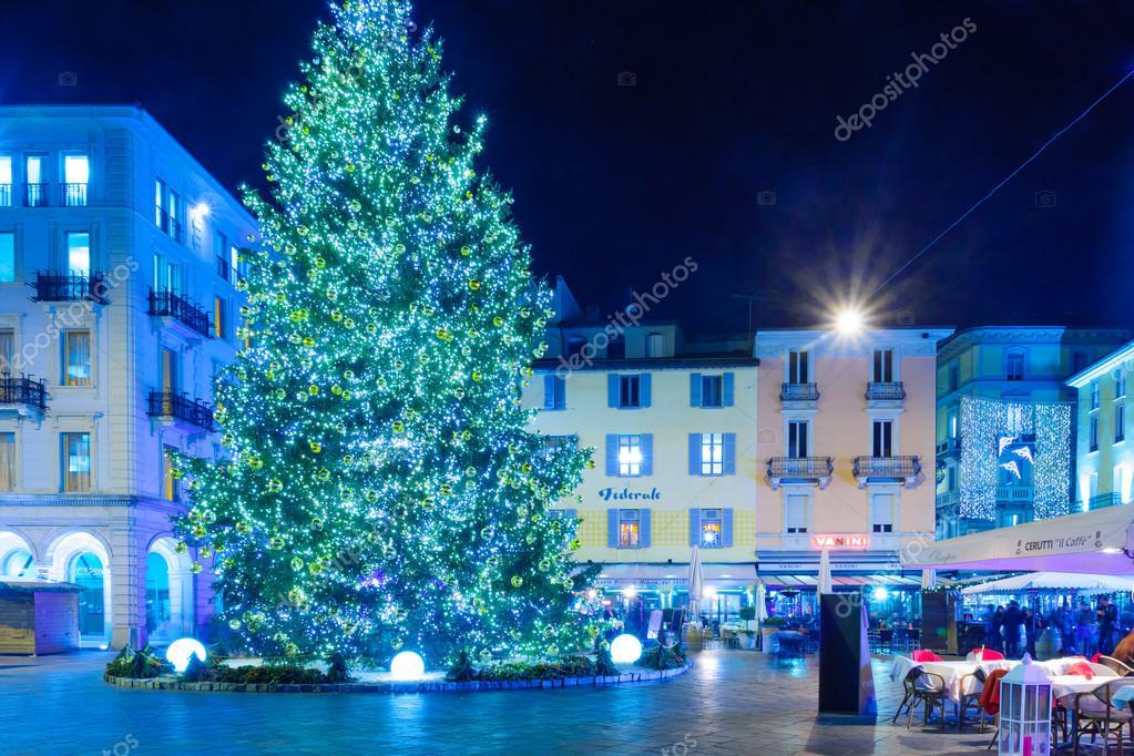Lugano Natale.Natale A Lugano Foto Editoriale Stock C Rndms 98372190