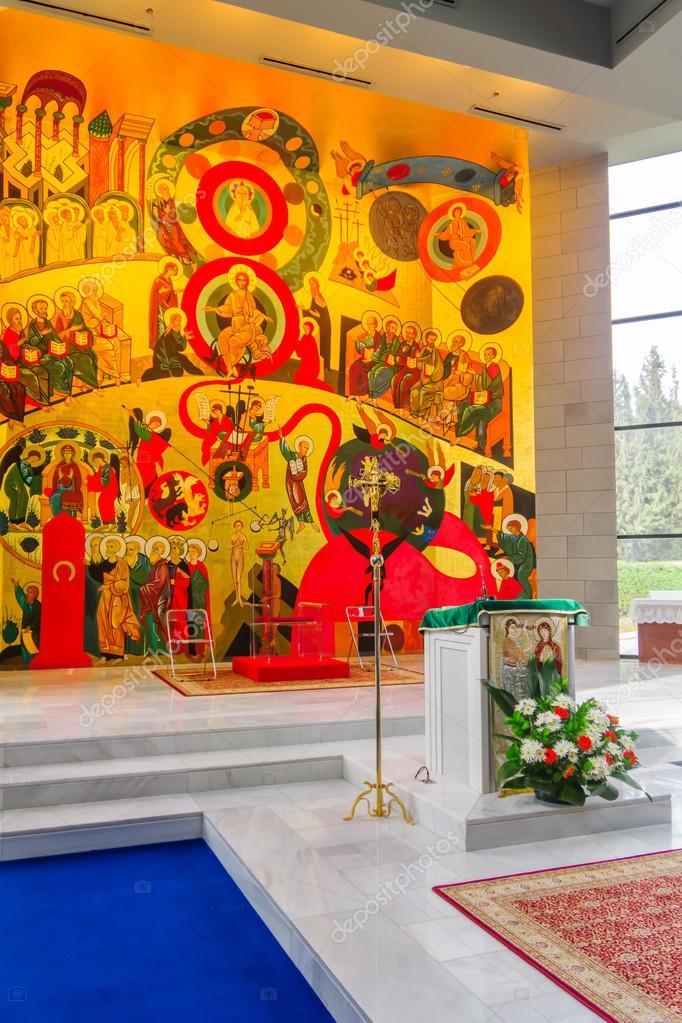 Monastero di domus galilaeae casa della galilea foto for Piani di casa di 4000 piedi quadrati
