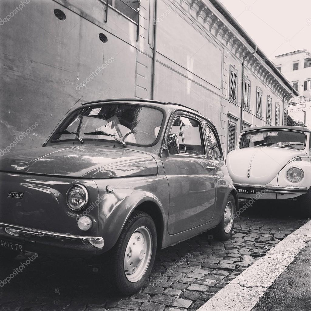 Old Fiat and Volkswagen cars – Stock Editorial Photo ...