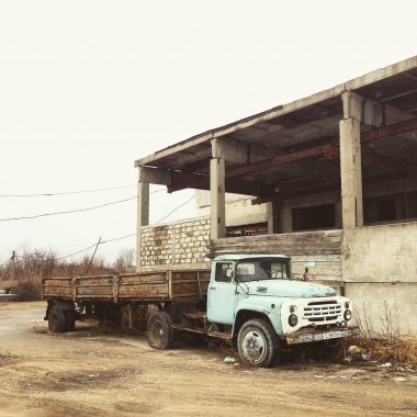 Old ZIL truck