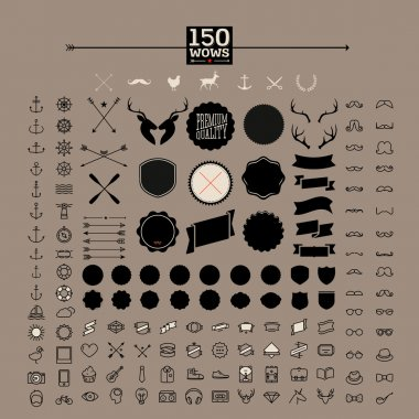 150 hipster icons