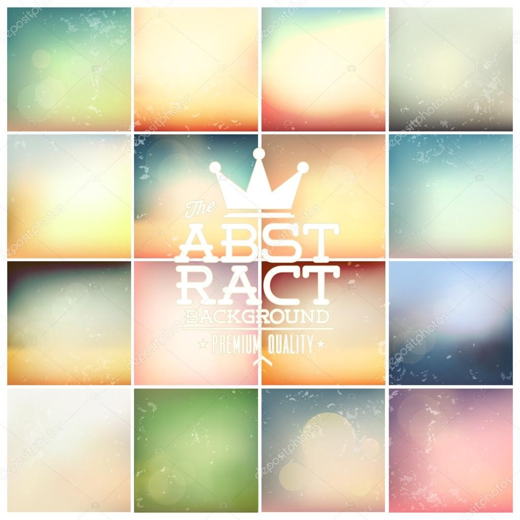 Soft Colored Abstract Backgrounds