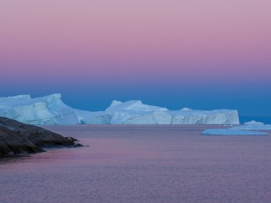 Icebergs of unusual forms