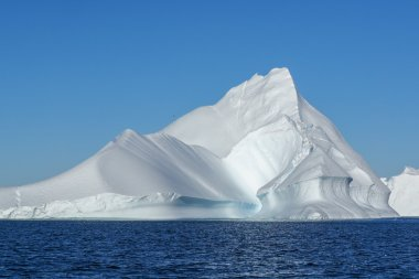 huge iceberg in water