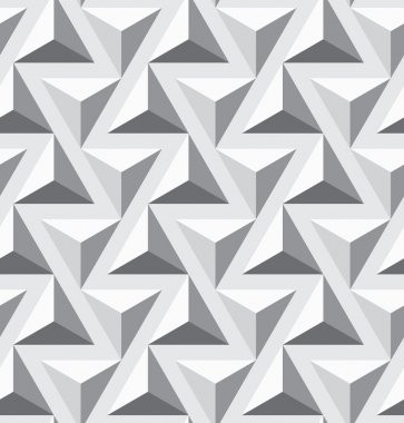 Seamless geometric opt triangle texture